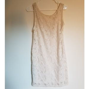 Candie's | Off-White Lace Dress
